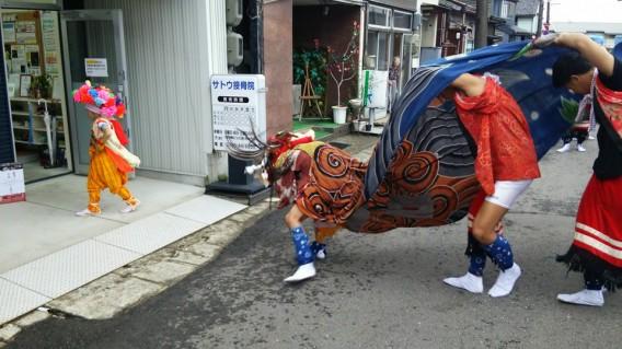 9/16(土)お休みします。伏木秋季祭礼「獅子舞」のため