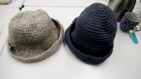 マフラーと帽子